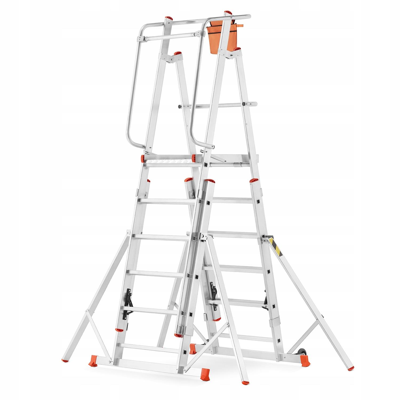 Подъемник лестничный алюминиевый для строительных лесов HIGHER