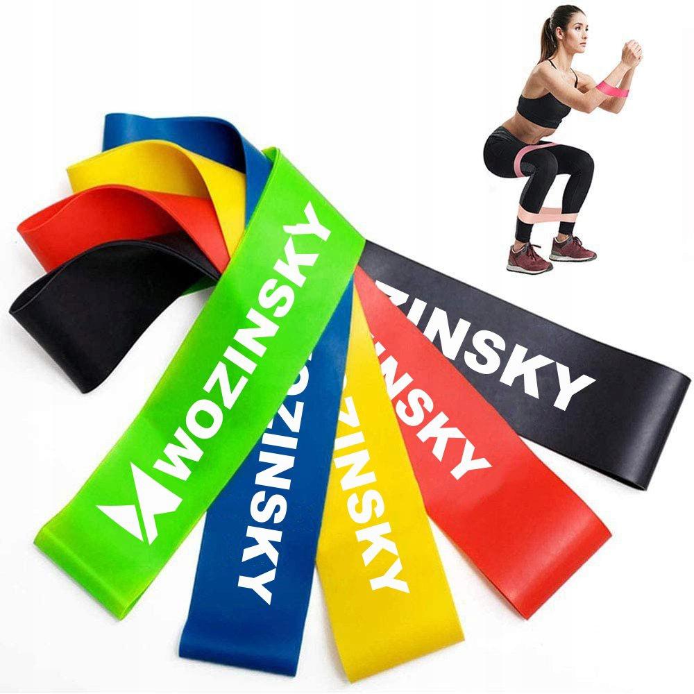Taśmy Gumy oporowe do ćwiczeń joga fitness Kod producenta L32A