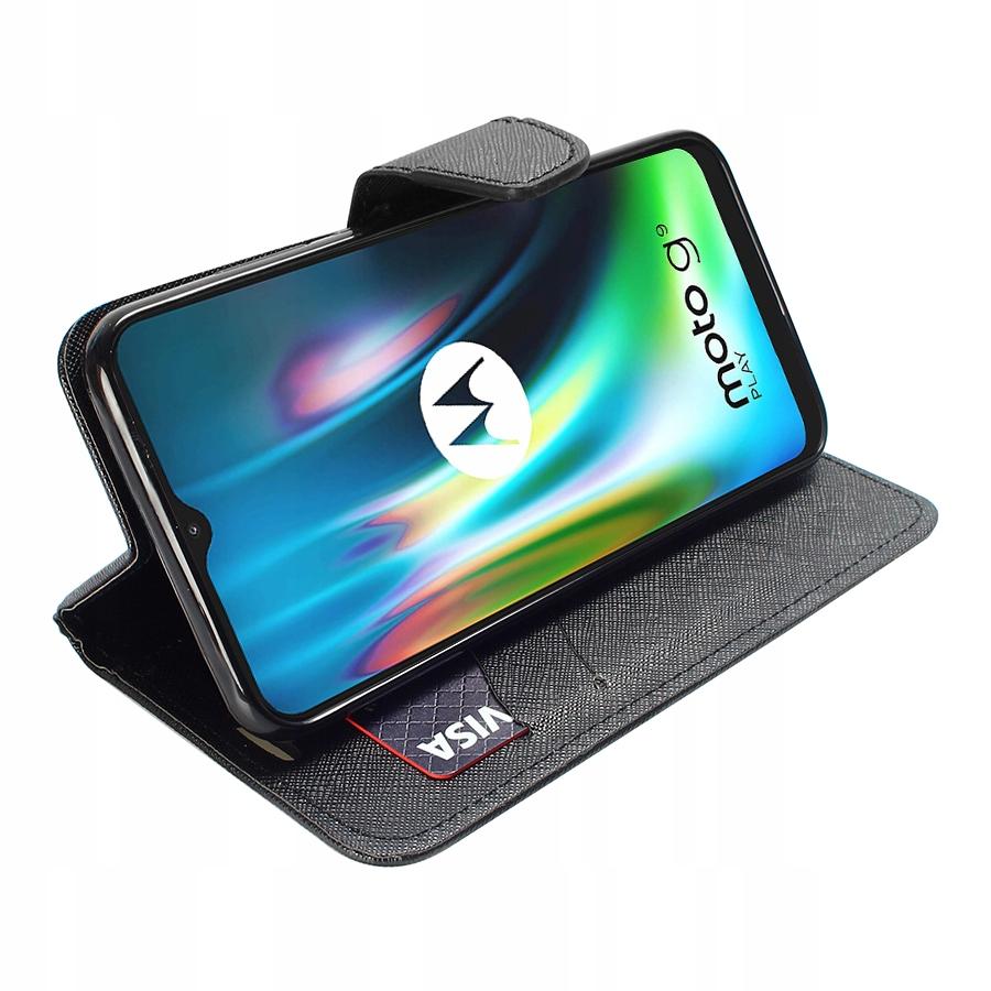 Etui do Motorola Moto G9 Play Fancy Case + SZKŁO Kod producenta D49
