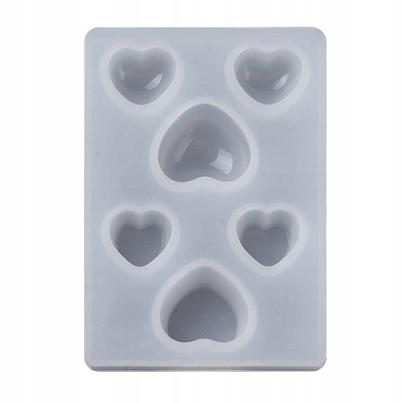 Item BFS94 Form mold silicone resin HEARTS