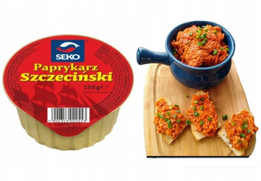 Paprykarz szczeciński SEKO 130g rybna konserwa