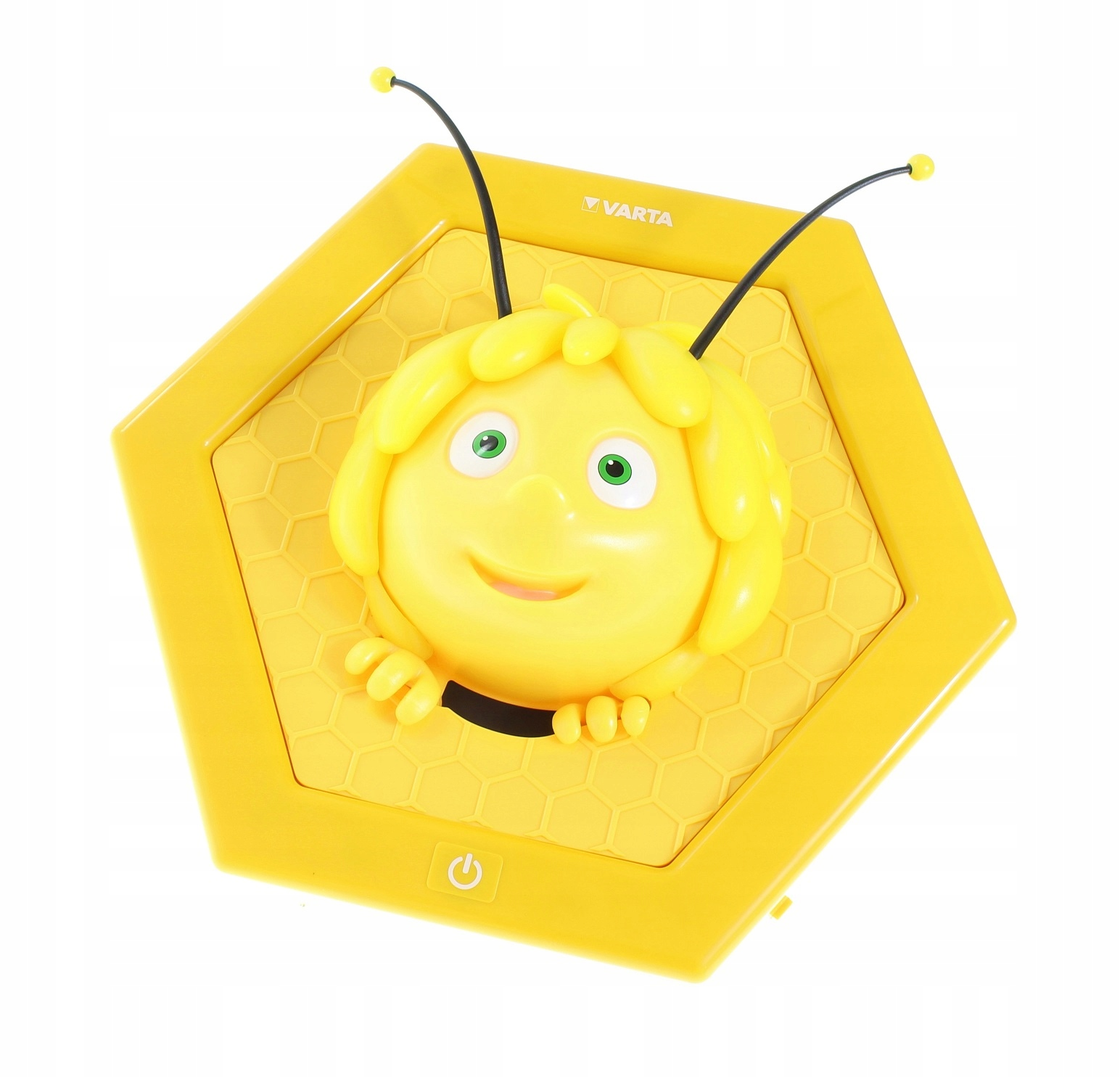 Lampka Nocna LED Pszczoła na baterie 2 tryby TIMER