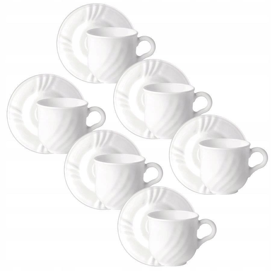 Чашки с блюдцем EBRO Bormioli 250ml 12el 6pers