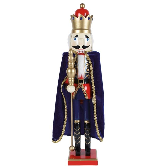 Деревянная фигурка Короля Щелкунчика 92 см