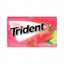 Жевательная резинка Trident Island Berry Lime 14 шт.