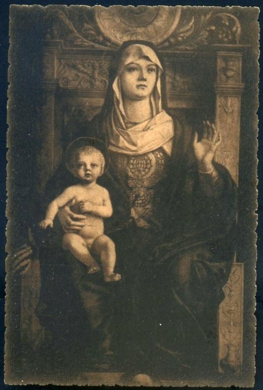 G. Bellini La Vergine col Figlio in trono Venezia