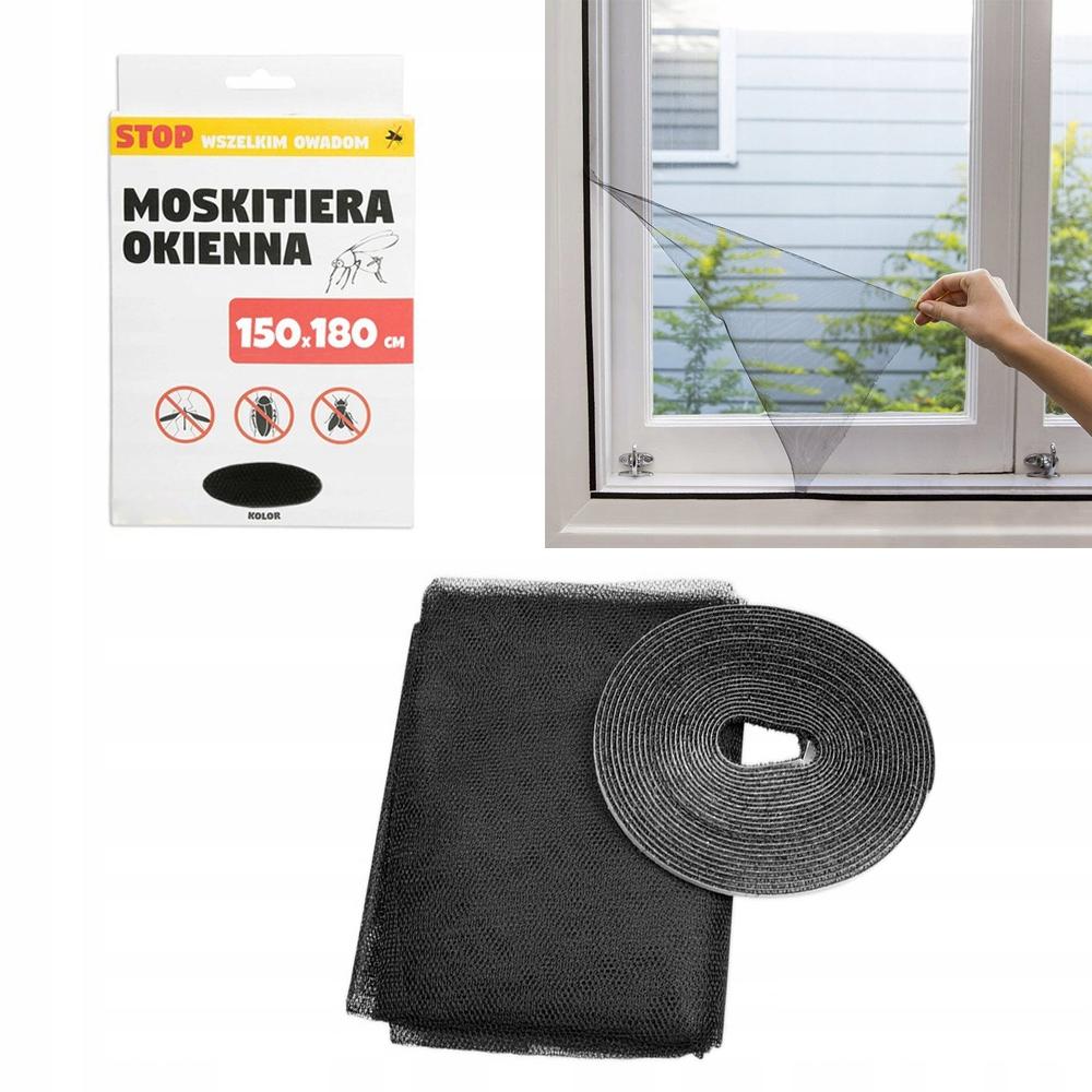 Mosquito NET Window 150x180 + zadarmo zadarmo vozidlo 6,6 MB