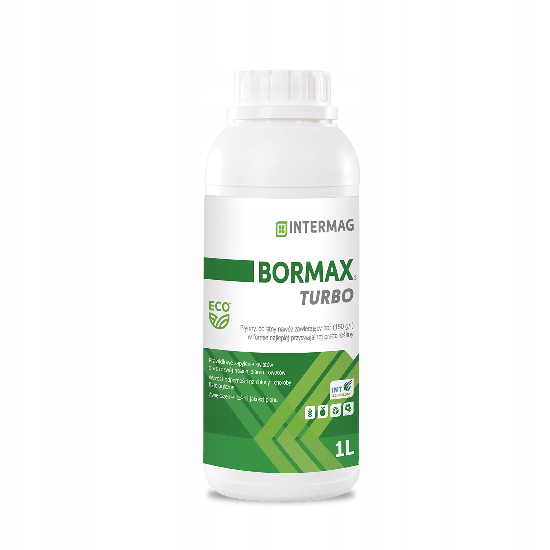 Bormax Turbo 1L Intermag Boron внекорневое удобрение