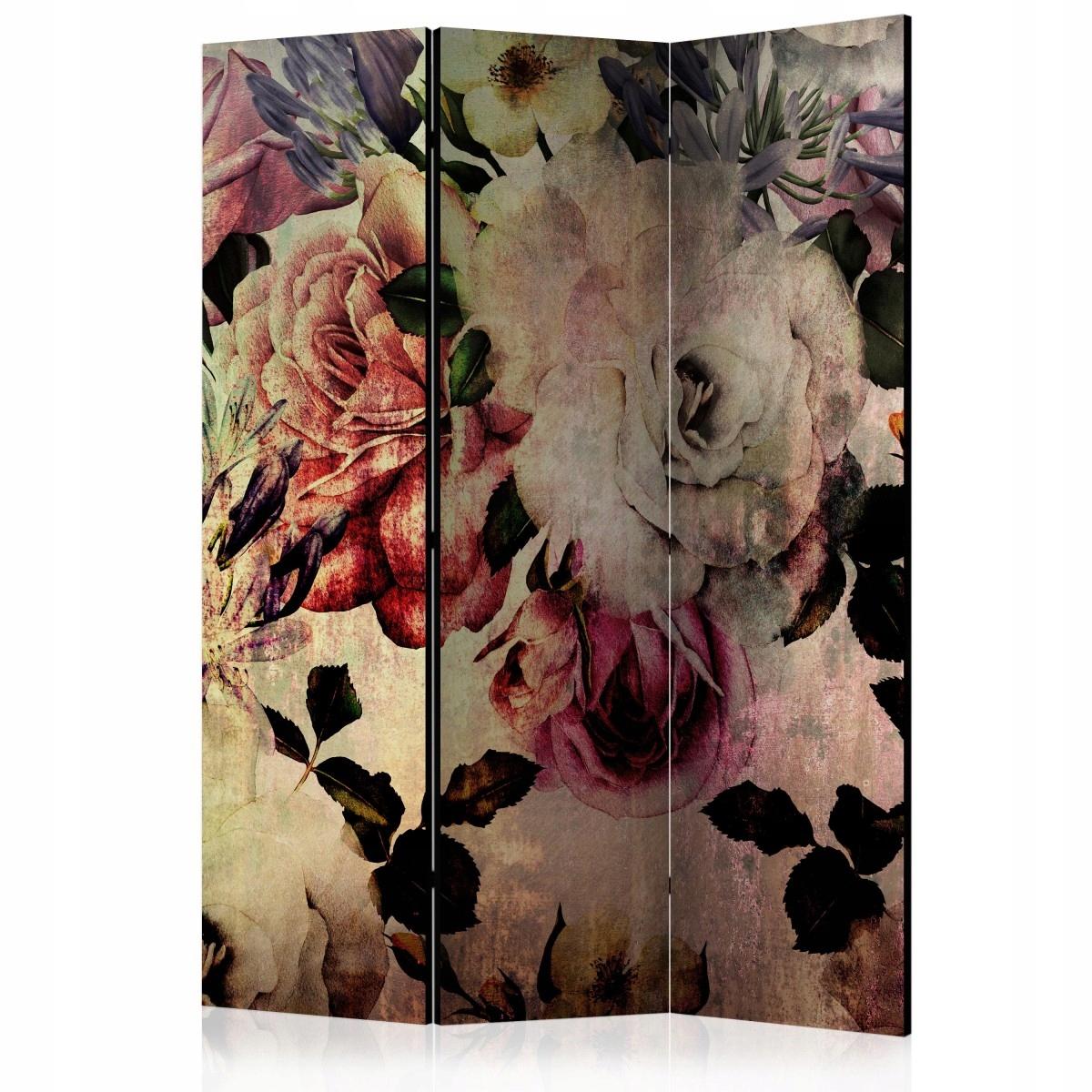 Displej izba 135x172 retro vintage kvety