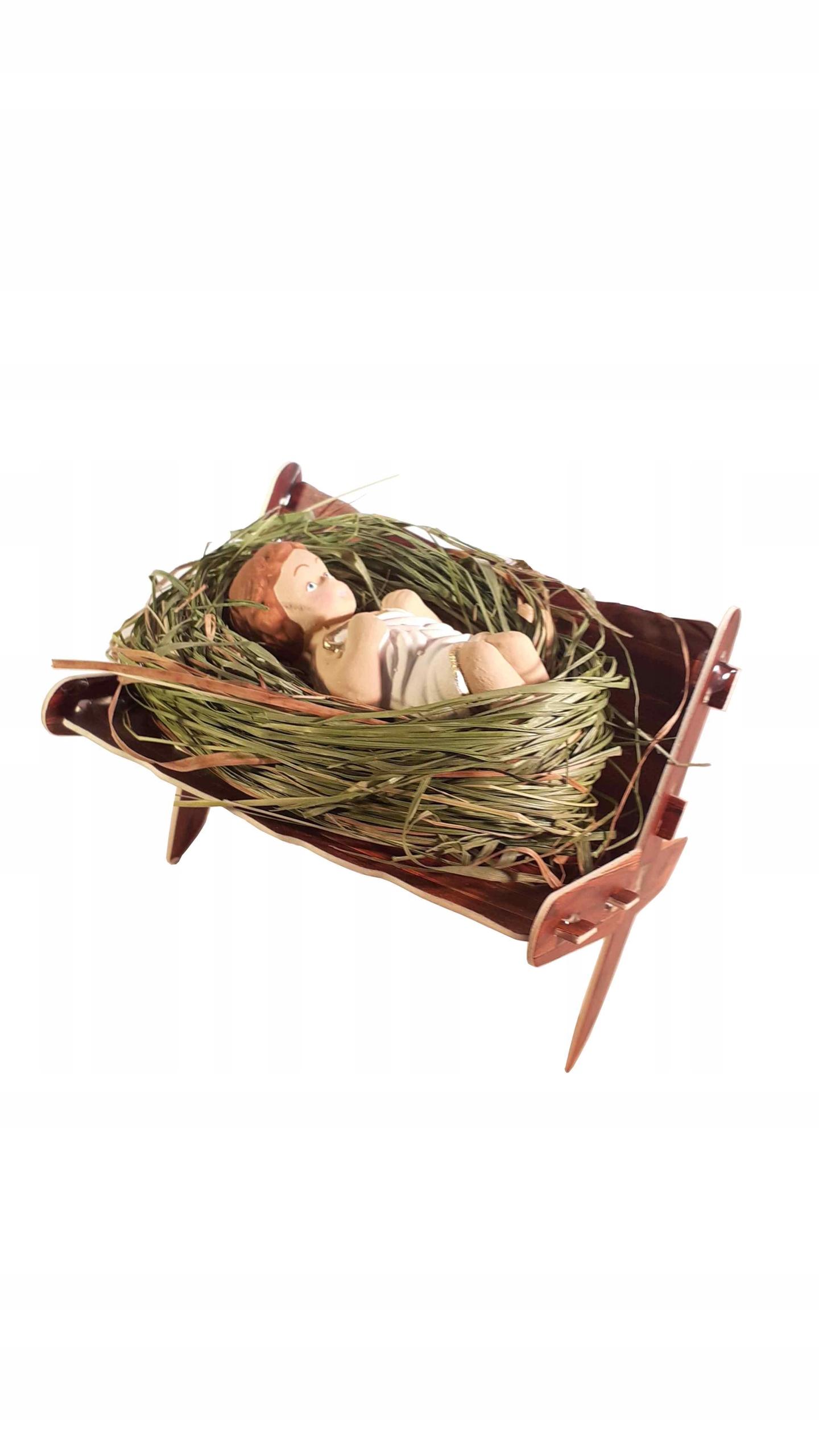 Младенец Иисус на сене. Детская. Рождественские украшения.