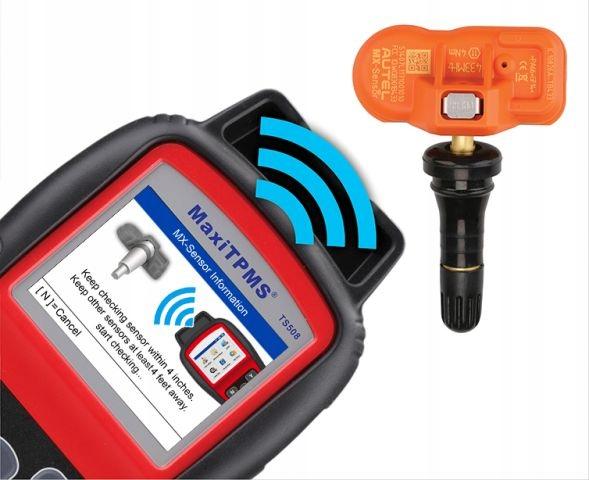 Skaner Autel MaxiTPMS TS508 Obsługa systemów TPMS Liczba sztuk 1 szt.