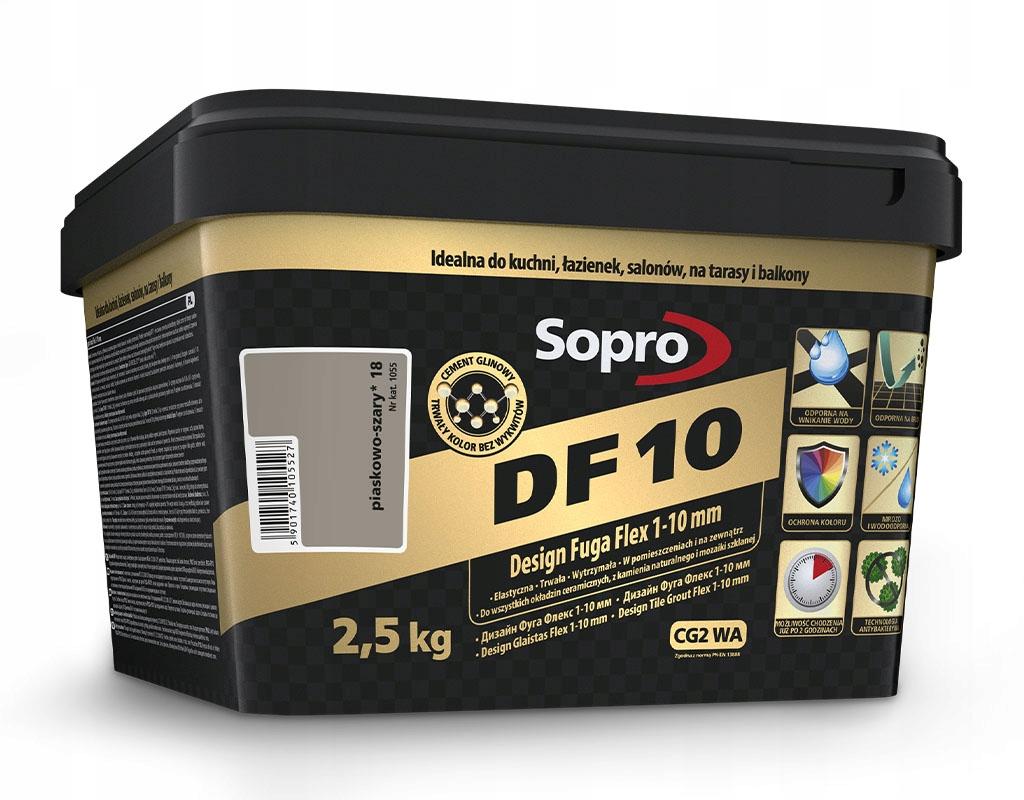 SOPRO GROOVE DF10 2,5 кг 1-10 мм SAHARA 40