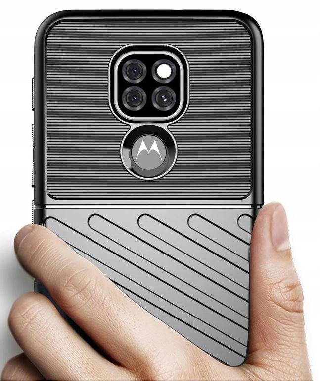 Etui do Motorola Moto G9 Play Pancerne Case +Szkło Dedykowany model Motorola Moto G9 Play