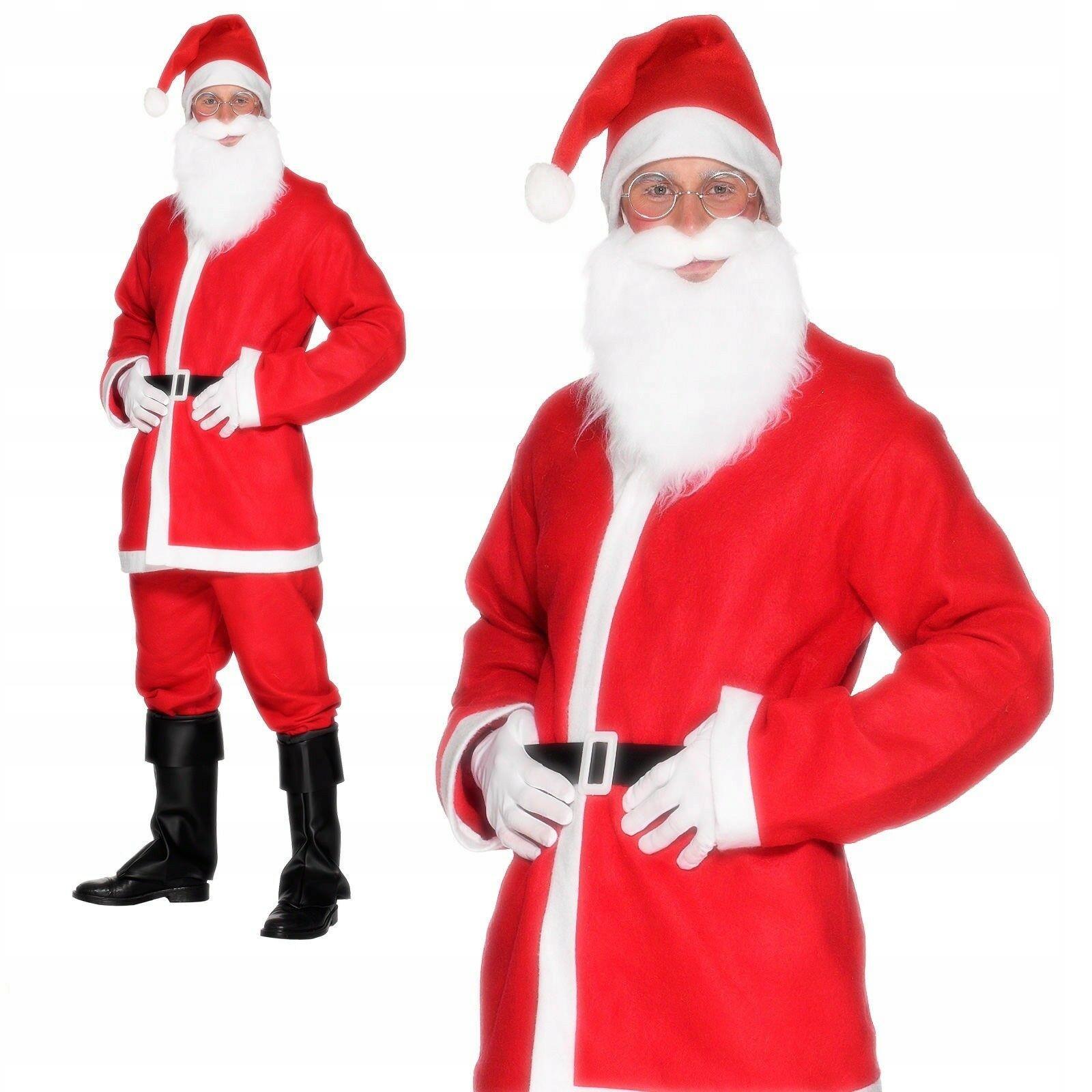 Костюм Деда Мороза комплект из 5 предметов