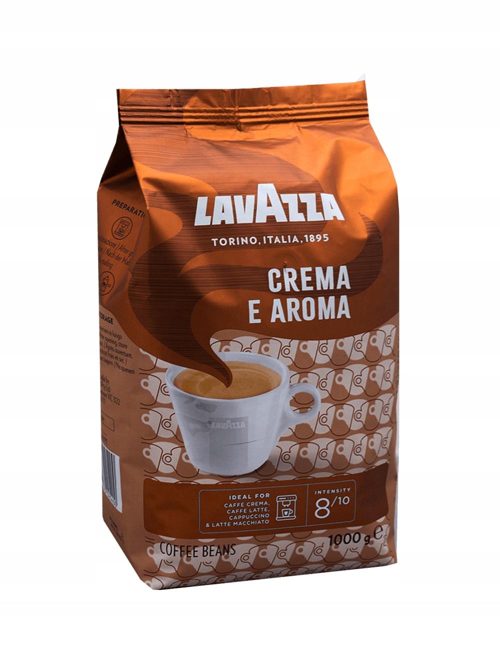 Kawa ziarnista LAVAZZA CREMA E AROMA 1 kg