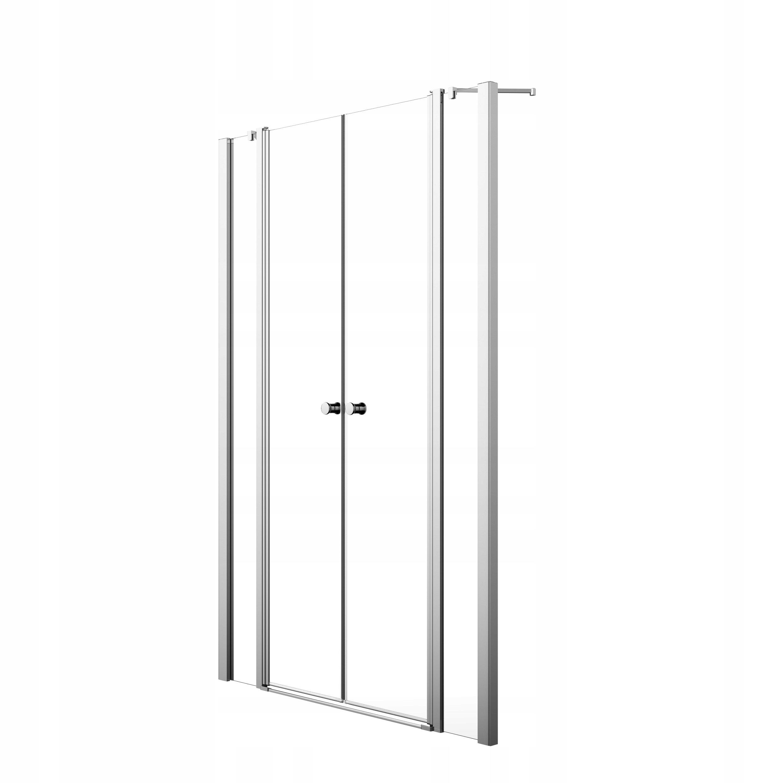 Sprchové dvere EOS II DWD W1 130x195 chróm cl