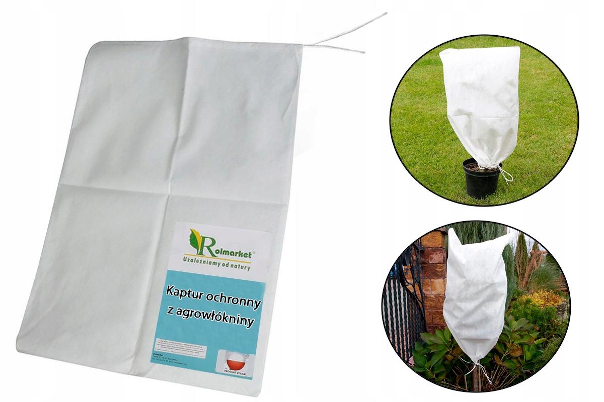 Капюшоны покрывают агроткань белый 80х120см 10шт.