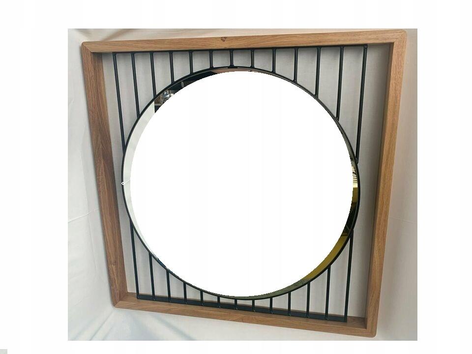 Zrkadlo v drevenom ráme RETRO GERMANY