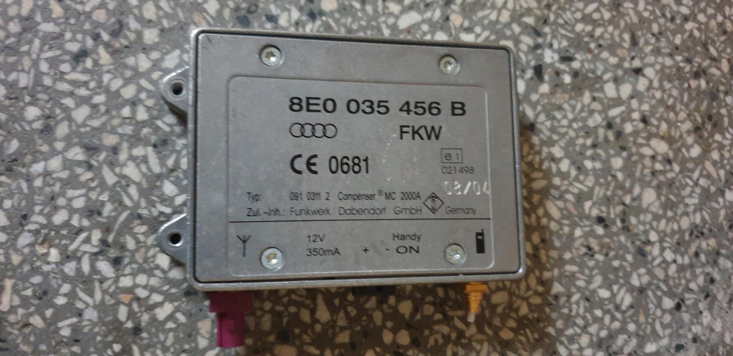 усилитель модуль антенны антенны audi a6 c5 c6 a4