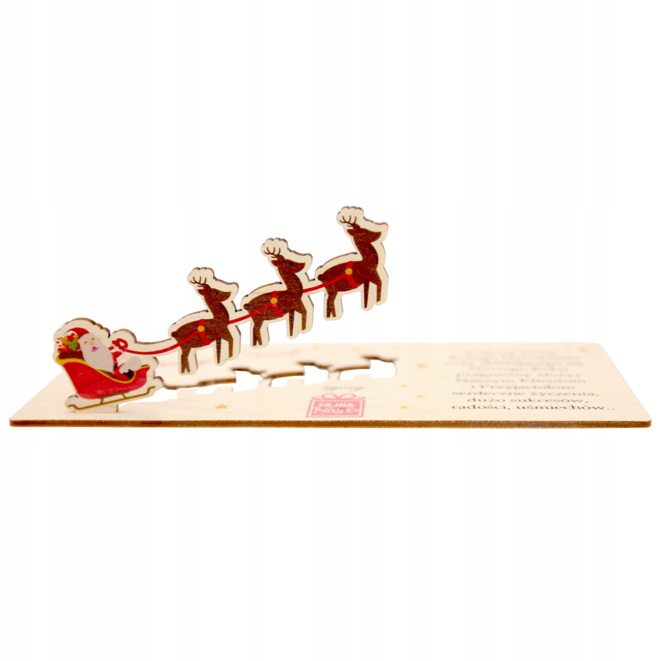 Vianočné karta Spoločnosť Logo Business Serveer