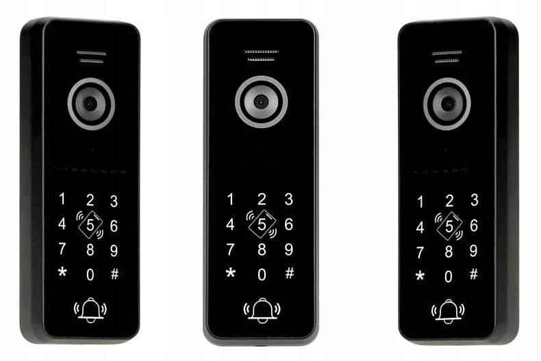 Wideodomofon IP DWA monitory APLIKACJA CZYTNIK KOD Typ domofonu Przewodowy Wi-Fi