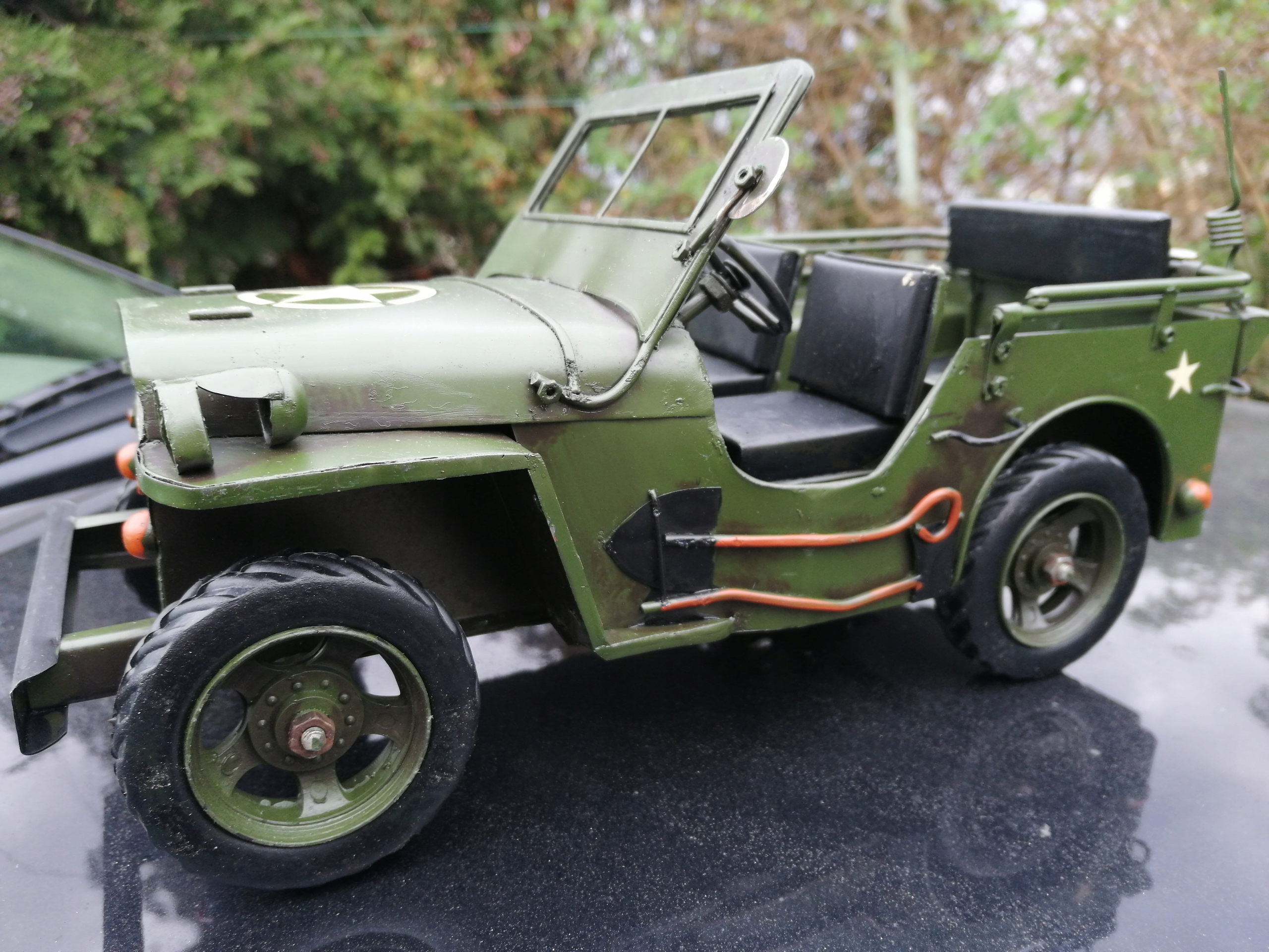 Jeep willys 1941r. 30cm model