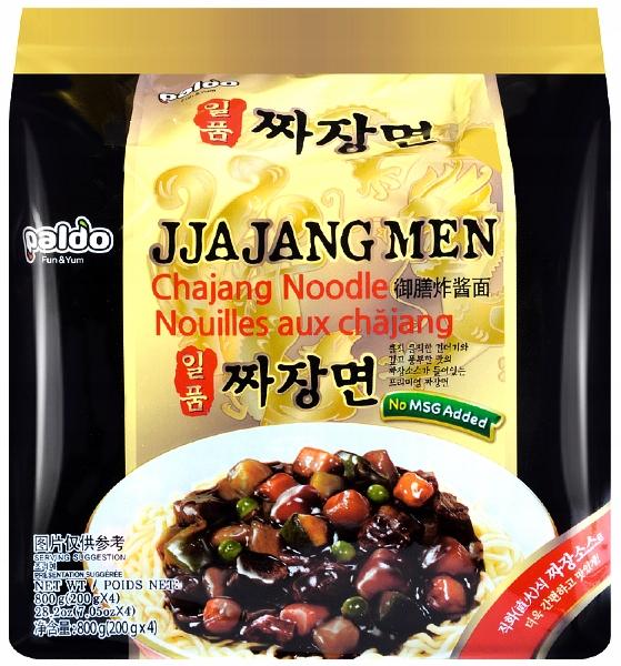 Лапша Jjajang Men с соусом chajang 4 x 200g Paldo