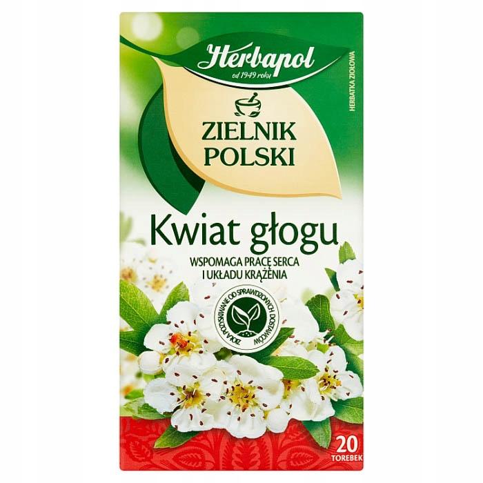 Herbapol Zielnik Polski Kwiat głogu 40g