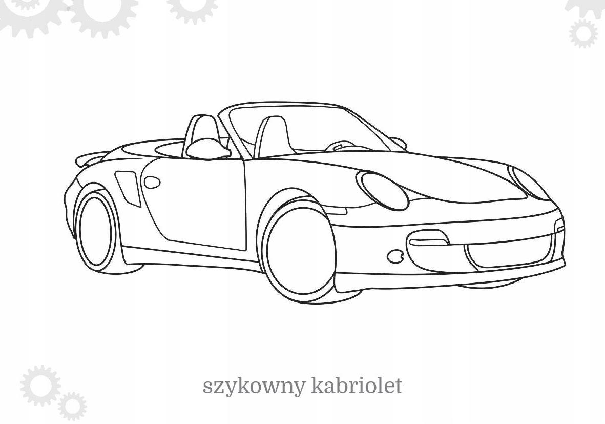 Maluszkowe Malowanie Samochody Osobowe Kolorowanka Allegro Pl Cena 1 50 Zl Stan Nowy Blachownia