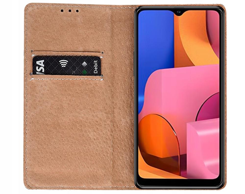 Etui do Samsung Galaxy A20S Skórzane Portfel Szkło Producent KrainaGSM