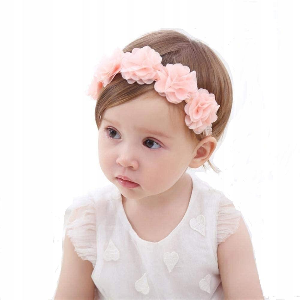 Обруч для волос с цветком для детей-младенцев