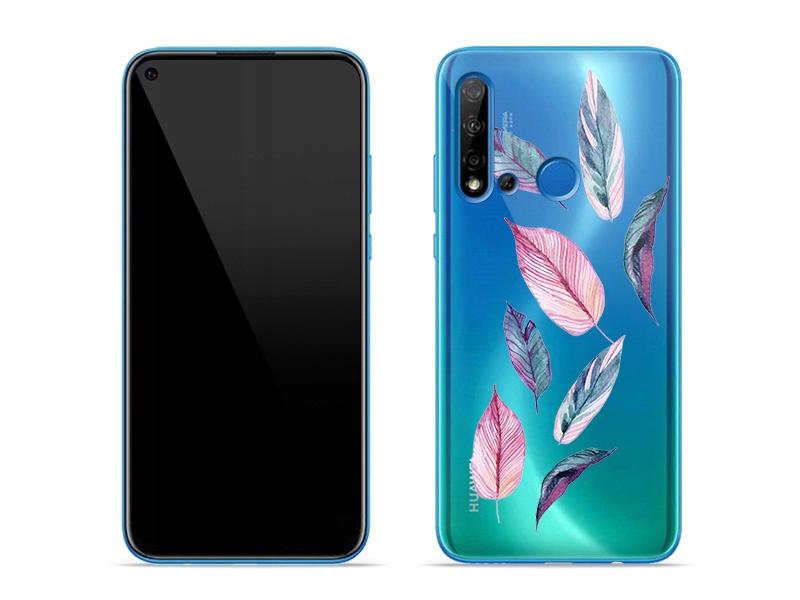 Huawei P20 Lite 2019 - stylowe etui Crystal Design