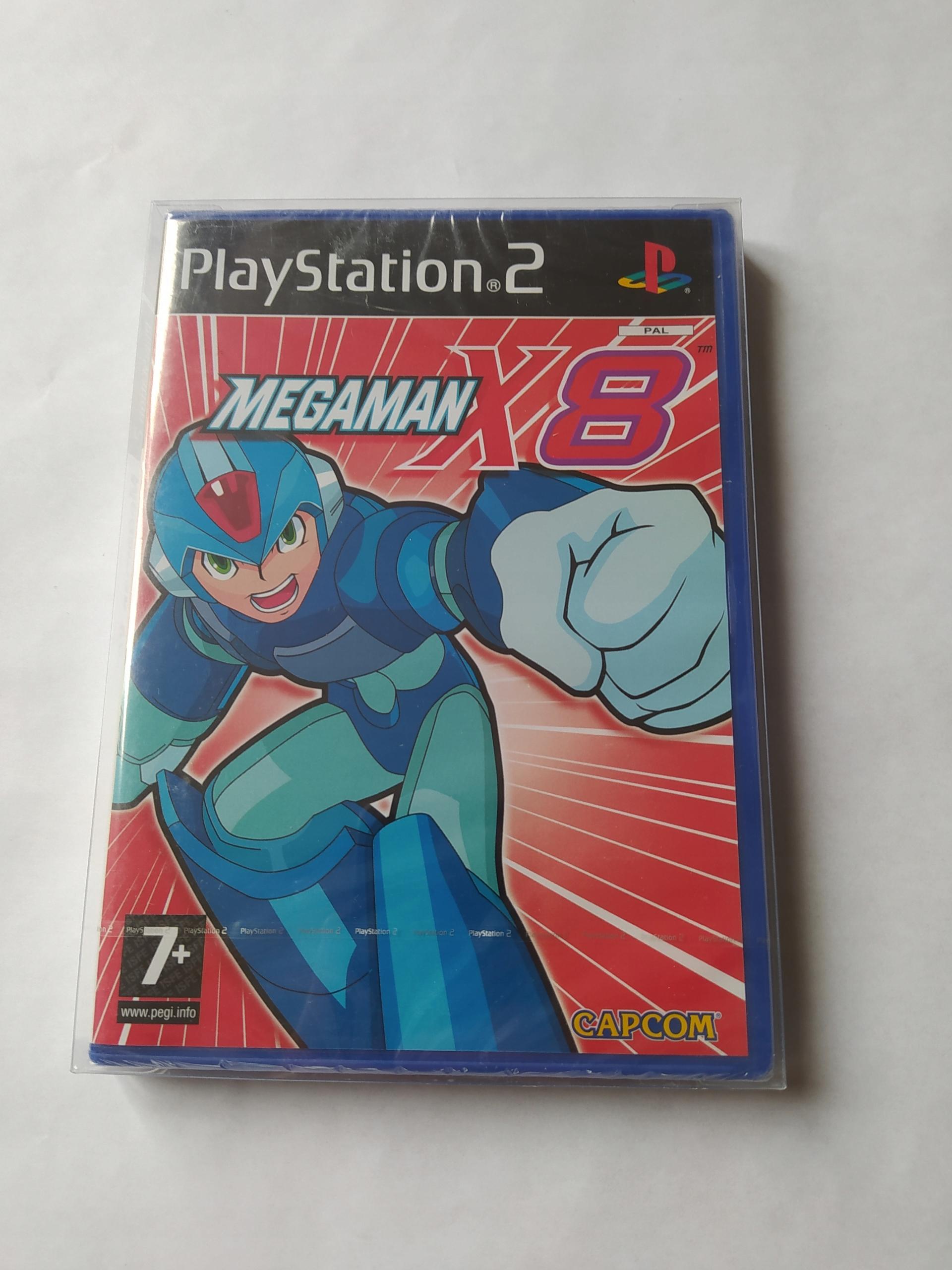 MEGAMAN x8 PS2 NOVINKA