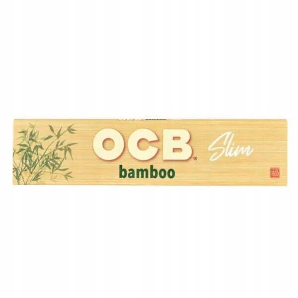 Бамбуковая папиросная бумага OCB BAMBOO King Size Slim