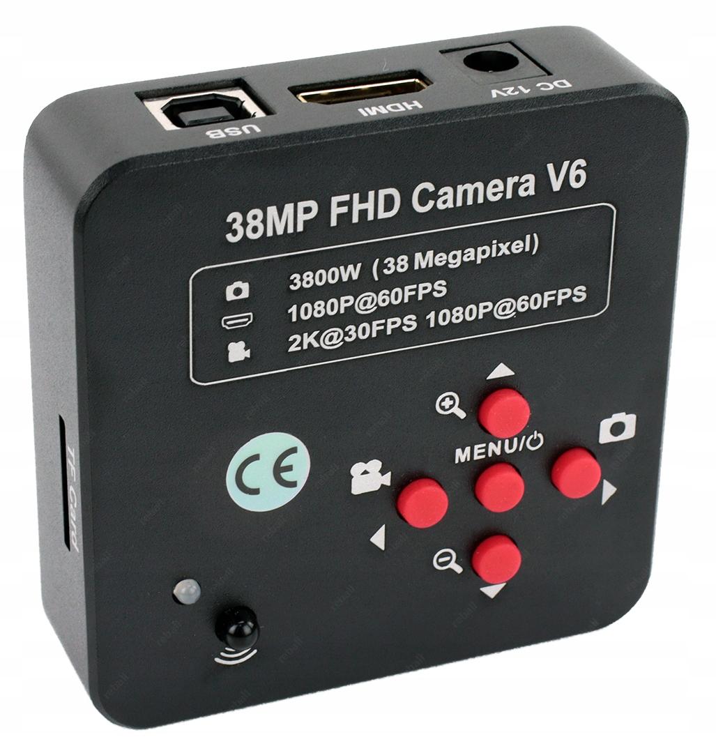 Cyfrowa Kamera Do Mikroskopów Fullhd 1080P 38MP 2K