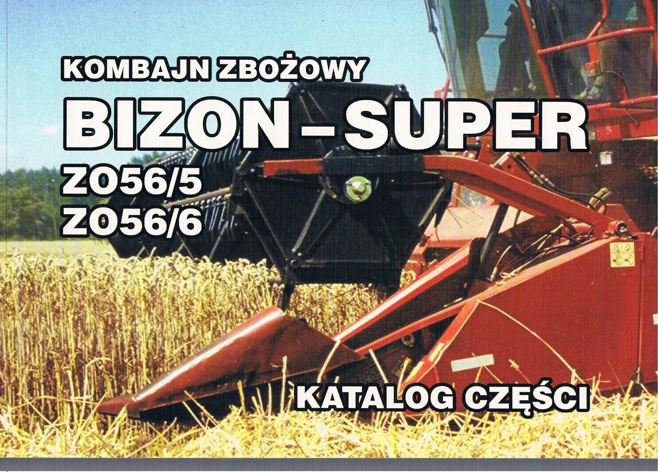 Katalog Kombajn Zbozowy Bizon Super Z 056 5 Z 05 Wrzesnia Allegro Pl