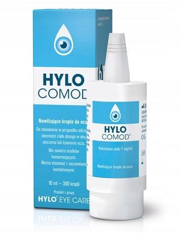 Hylo-Comod Krople Do Oczu Nawilżające 10ml