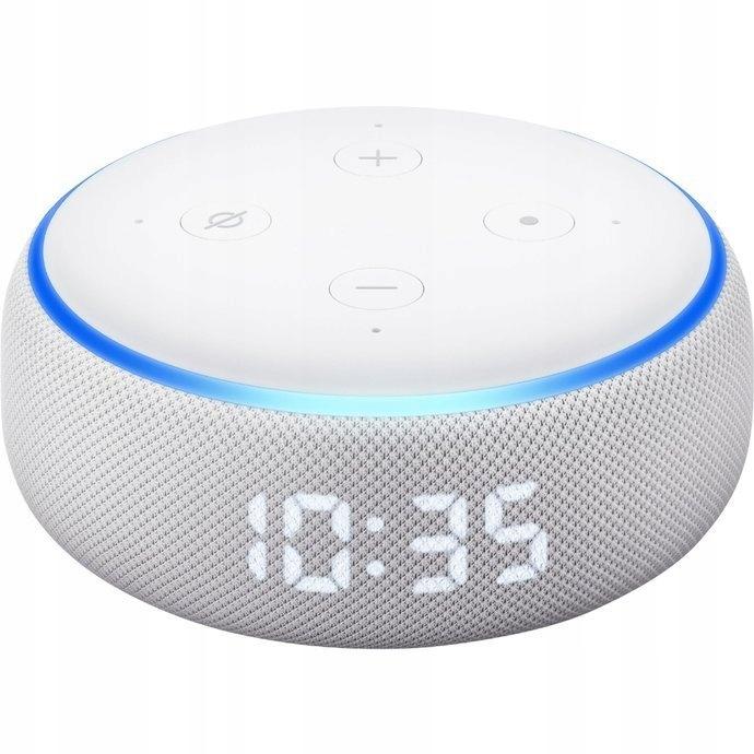 Głośnik Amazon Echo Dot 3 z zegarem 2. gen