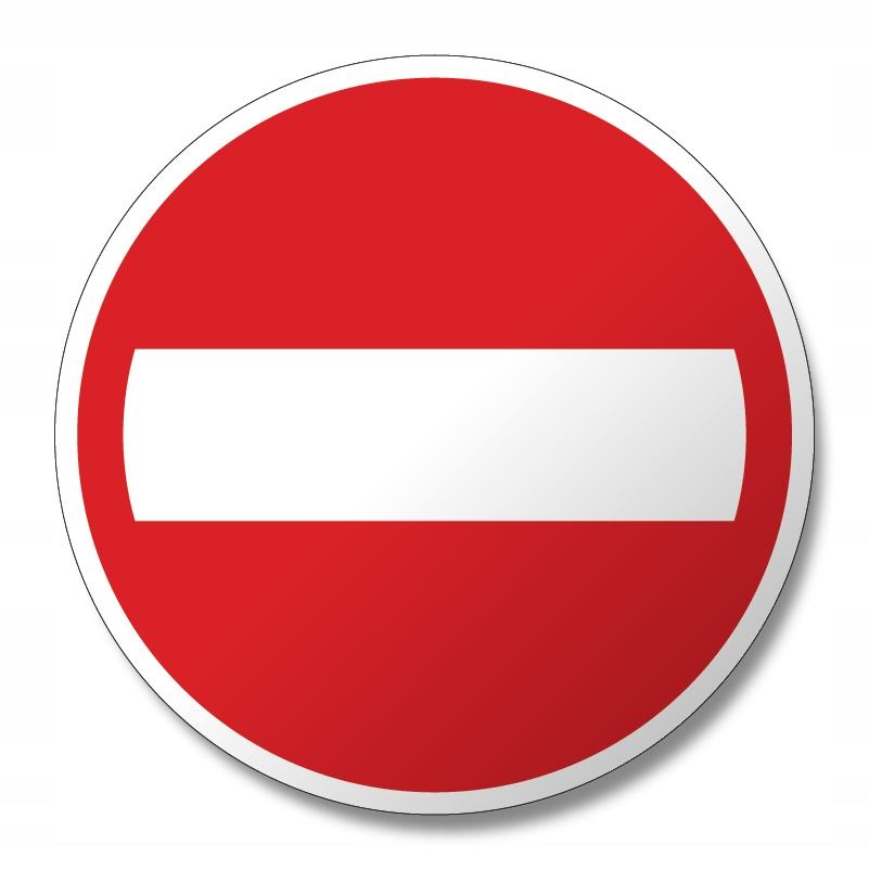 Наклейка с запретом обгона RIGHT ADR ADR TIR 12см