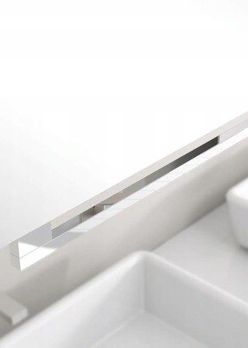 Lustro Miior Top 60x60 LED wysuwane/przyciągane Szerokość 600 mm