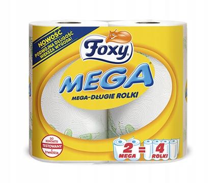 Foxy Mega Ręcznik papierowy 2 sztuki