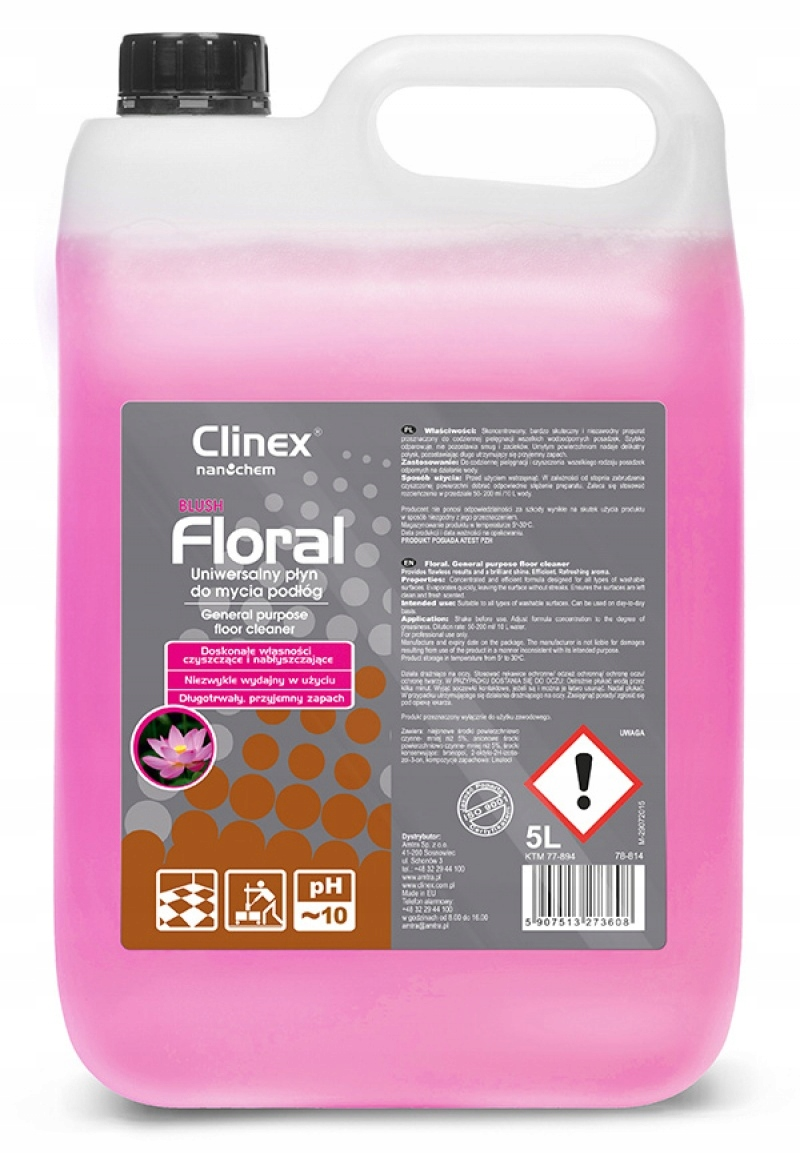 Цветочные румяна 5л универсальная жидкость для полов