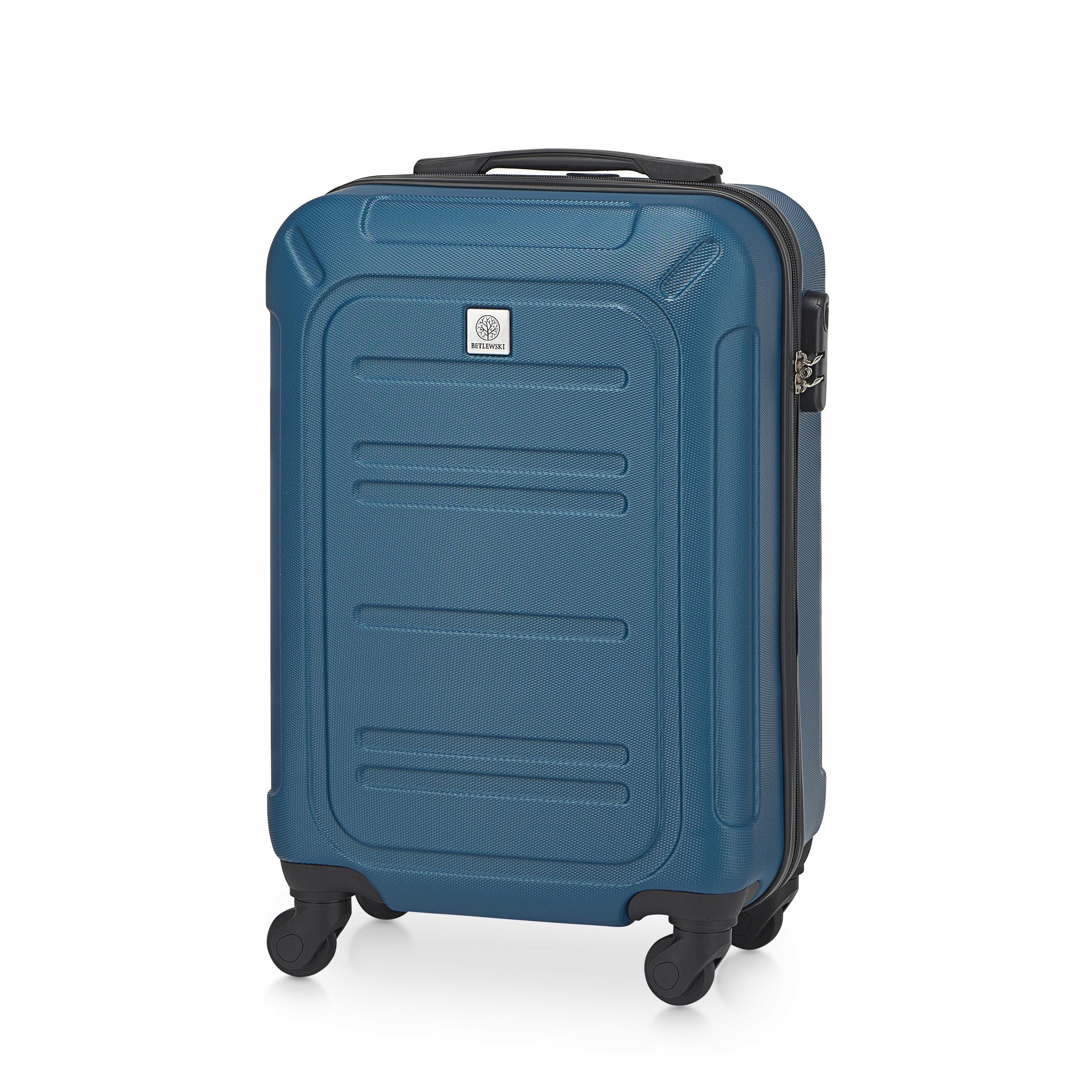 BETLEWSKI Kabinowa walizka podróżna kółkach mała