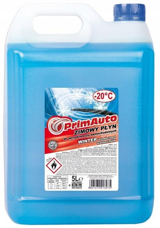 Жидкость для омывателя автомобилей Prima Winter 5L