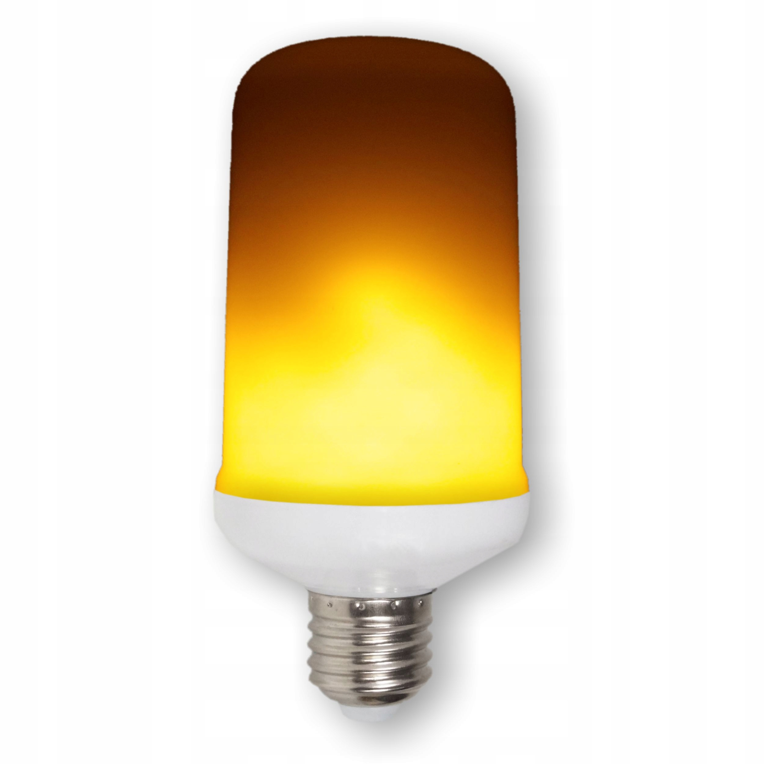 Żarówka ogień, ozdobna, imitująca płomień LED E27