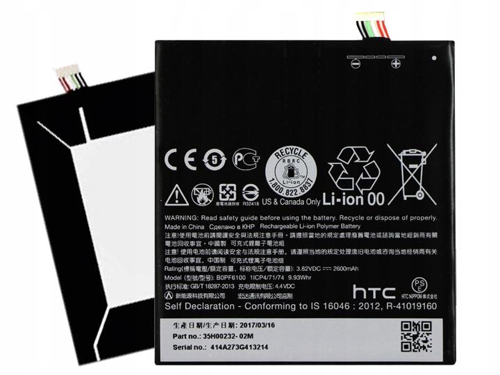 Oryginalna Bateria Htc B0PF6100 Desire 820