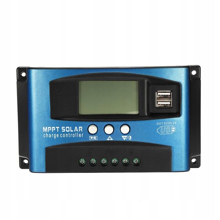 MPPT SOLARNY REGULATOR ŁADOWANIA USB 12V/24V 40A