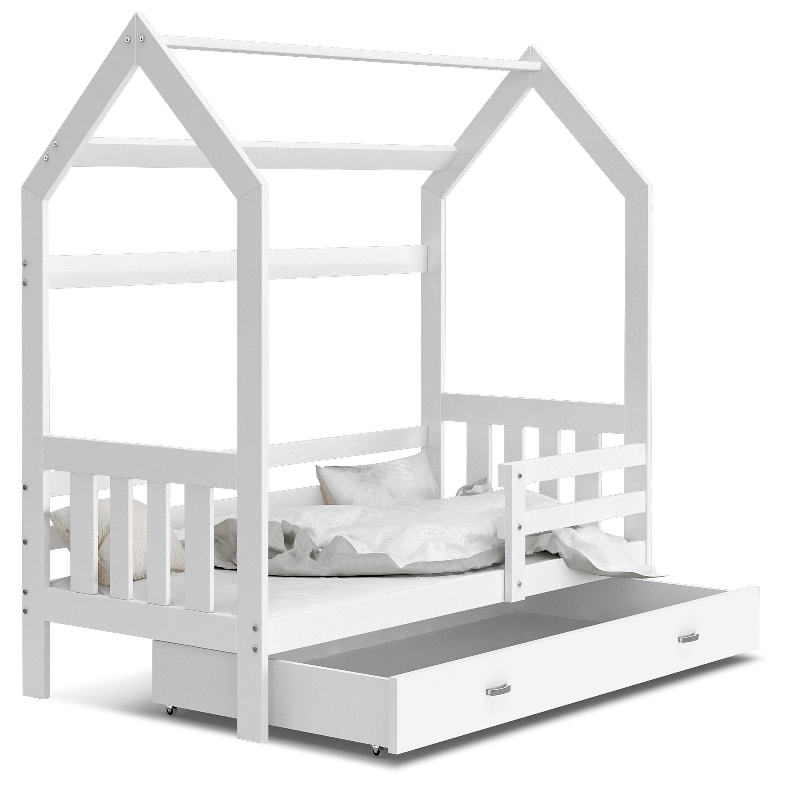 Деревянная кровать HOUSE 2 каркас матраса 160x80