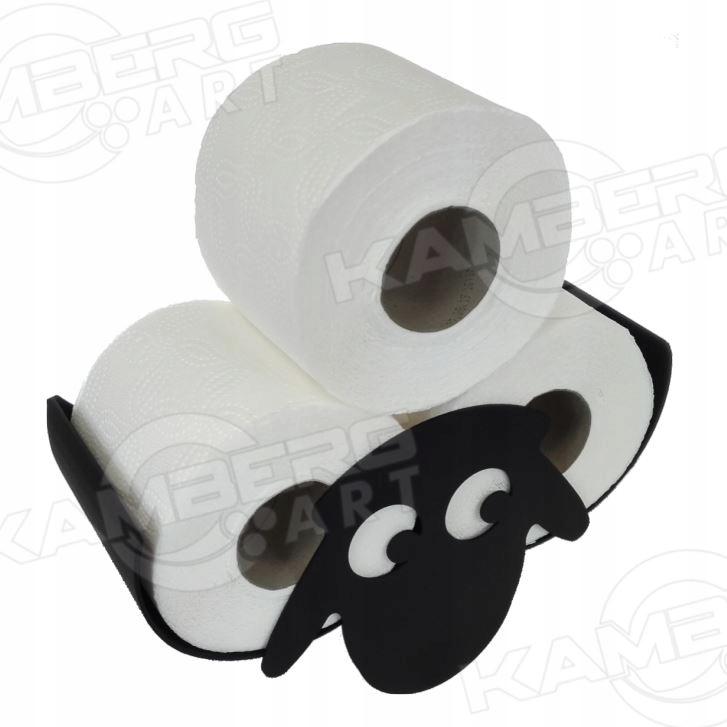 Polica na toaletný papier stredná