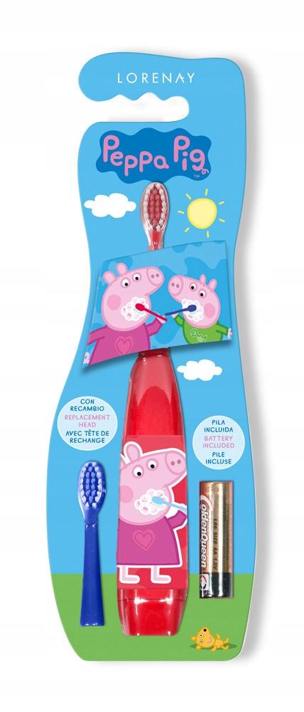 Купить Электрическая зубная щетка Peppa Pig на Otpravka - цены и фото - доставка из Польши и стран Европы в Украину.